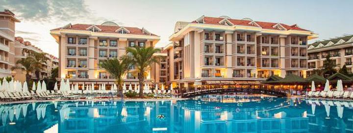 Elegantiškos atostogos Turkijoje! Savaitės poilsis turistų labai gerai vertinamame 5* viešbutyje SENTIDO TURAN PRINCE.