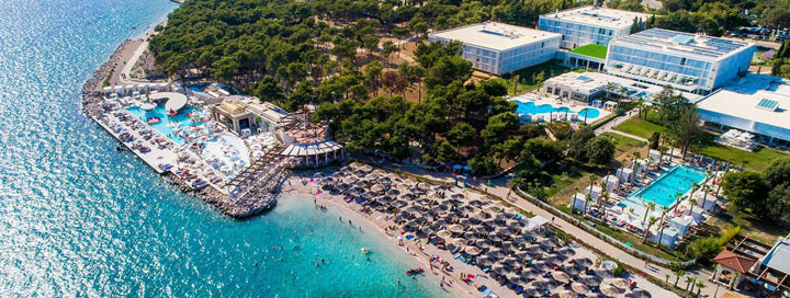 Nuostabūs vaizdai ir atpalaiduojantis poilsis prie jūros KROATIJOJE! 7 n. 4* viešbutyje AMADRIA PARK HOTEL JURE.