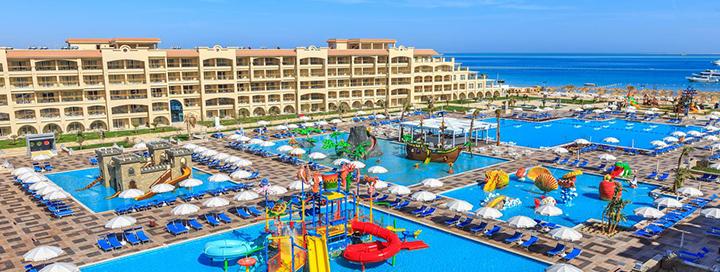 Atostogos su šeima ant jūros kranto EGIPTE, Hurgadoje! Savaitės poilsis 5* viešbutyje ALBATROS WHITE BEACH.