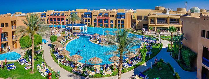 Pramogos ir malonumai Hurgados kurorte EGIPTE! Savaitė daug baseinų turinčiame 5* viešbutyje su TITANIC PALACE.