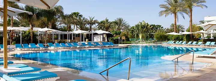 Pramogos prie jūros EGIPTO Šarm el Šeicho kurorte! 7 n. 5* viešbutyje NOVOTEL BEACH.