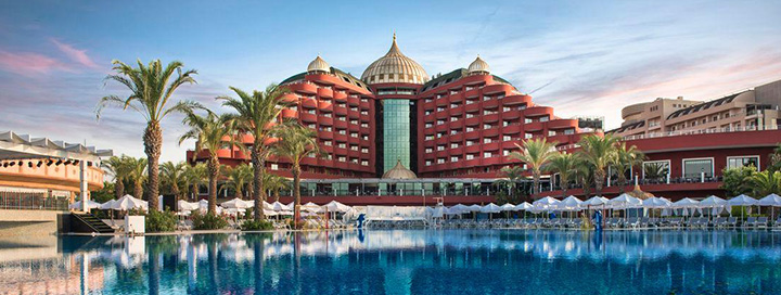 Prabangios ir pramogų kupinos atostogos Antalijoje, TURKIJOJE! Savaitė puikiame 5* viešbutyje ant jūros kranto DELPHIN PALACE.
