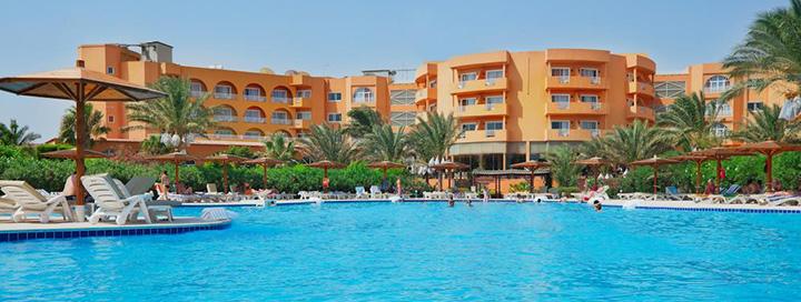 Smagios šeimos atostogos prie jūros Hurgados regione, EGIPTE! Savaitės poilsis 4* viešbutyje GOLDEN BEACH RESORT.