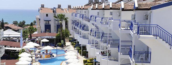 Saulėtos atostogos prie jūros Sidės regione, TURKIJOJE! Savaitės poilsis jaukiame 3* viešbutyje JOKER SIDE HILL.