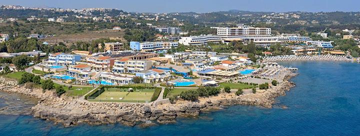 Nepamirštamos atostogos prie jūros RODO saloje, GRAIKIJOJE! Savaitė puikiame 5* viešbutyje PARADISE VILLAGE BEACH RESORT.