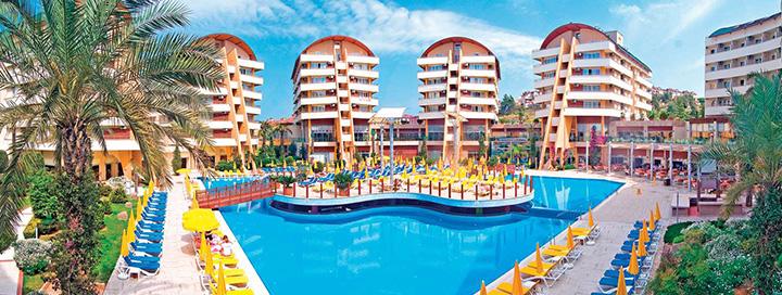 Atostogos be rūpesčių Alanijos regione, TURKIJOJE! 7 n. 5* viešbutyje ALAIYE RESORT & SPA.