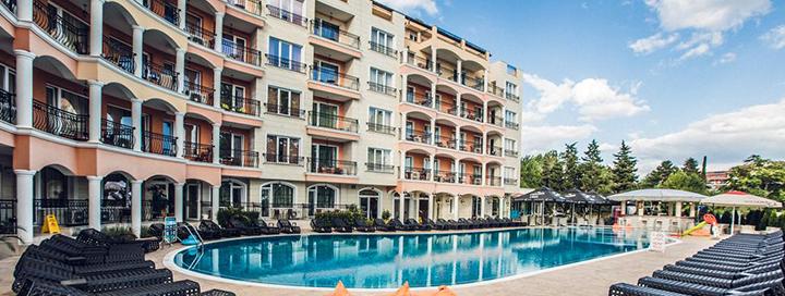 Mėgaukitės ramiu poilsiu Saulėto kranto kurorte, BULGARIJOJE! Savaitė jaukiame 4* viešbutyje AVENUE DELUXE.