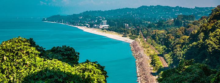 Įsimintinos atostogos Juodosios jūros pakrantėje GRUZIJOJE (SAKARTVELE)! 7 n. poilsis Batumio kurorte, 4* viešbutyje GOLDEN PALACE HOTEL & CASINO.