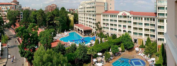 Pramogų kupinos atostogos BULGARIJOJE! Savaitė Saulėto kranto kurorto centre įsikūrusiame 4* viešbutyje ALBA.