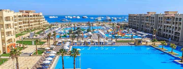 Praleiskite smagias atostogas su šeima ant jūros kranto EGIPTE, Hurgadoje! Savaitės poilsis 5* viešbutyje ALBATROS WHITE BEACH RESORT.