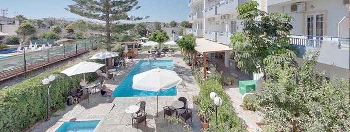 Trumpas vasaros poilsis KRETOJE, Graikijoje! 4 n. netoli paplūdimio įsikūrusiame 3* viešbutyje MARIRENA HOTEL.