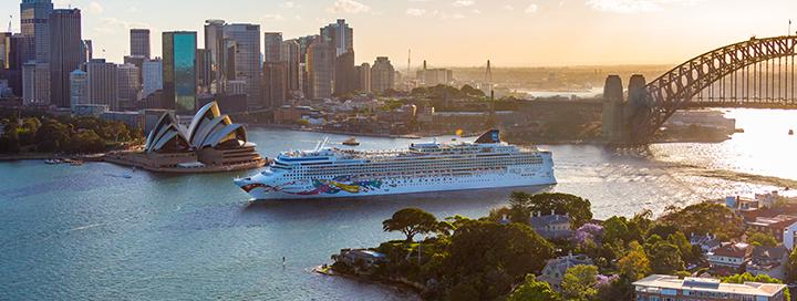 NAUJIEJI METAI AUSTRALIJOJE ir 10 naktų kruizas Naujosios Zelandijos FJORDUOSE Norwegian Jewel laivu.
