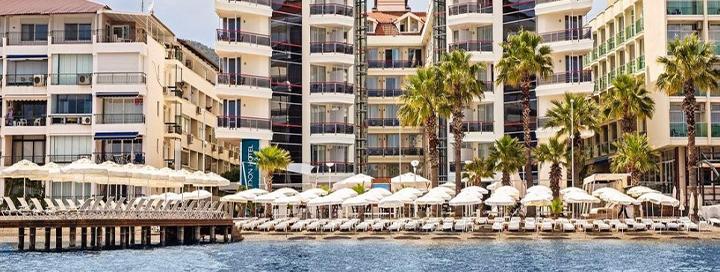 Nuotaikingos atostogos po karšta Turkijos saule! 7 n. kokybiškame 4* viešbutyje Marmario regione.