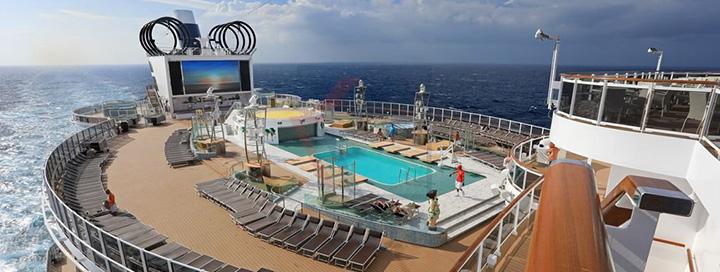 Trumpos atostogos kruize MSC Seaview laive, aplankant Italiją, Prancūziją ir Ispaniją. Galima įsigyti ir pilną kelionės paketą.