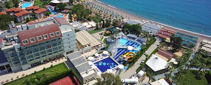 Poilsiaukite ant jūros kranto Alanijos regione TURKIJOJE! Savaitės poilsis palmių apsuptame 5* viešbutyje.