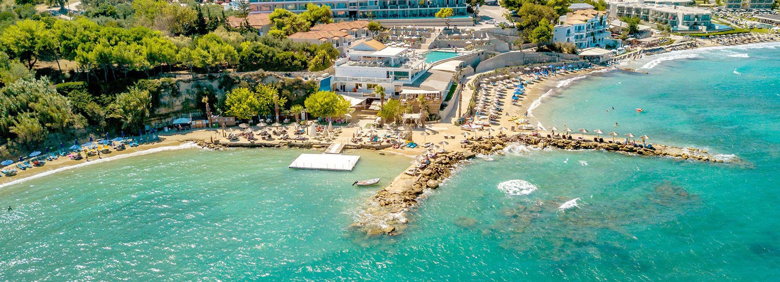 Fantastiškos atostogos Zakinto saloje, Graikijoje! Savaitė puikiame, 5* viešbutyje SENTIDO ALEXANDER BEACH RESORT.