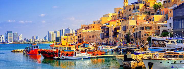 Speciali kaina pažintinei kelionei Izraelyje su poilsiu prie Viduržemio jūros.