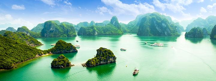 YPATINGA KAINA! Specialus pasiūlymas pažintinei - egzotinei kelionei į Vietnamą su poilsiu ir lietuviškai kalbančiu vadovu.