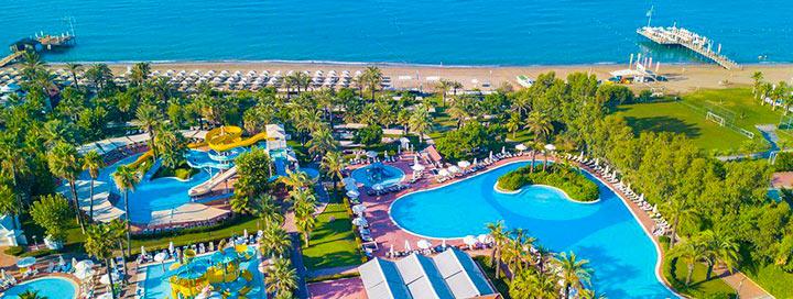 """Wow! Įspūdingas poilsis šeimai Turkijoje, Beleko kurorte! Savaitės atostogos 5* viešbutyje, PALOMA GRIDA RESORT & SPA su """"ultra viskas įskaičiuota"""" - nuo 419 EUR!"""