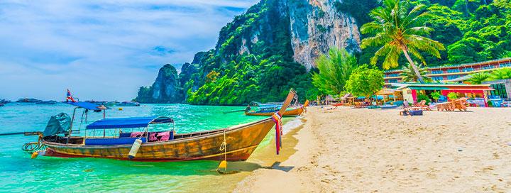 Įsimintina pažintis su Bankoku (su lietuviškai kalbančiu vadovu) ir poilsis pietiniame Tailande - tik nuo 1670 EUR! Kelionės data: 2020m. vasario 21 d.