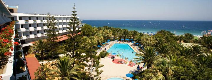 Įsimintinos atostogos išskirtinio grožio Graikijos saloje – RODE! Savaitė ant jūros kranto, BLUE HORIZON PALM BEACH HOTEL & BUNGAL  4* viešbutyje.