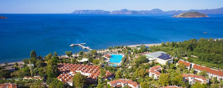 Pramogos ir jūra TURKIJOJE! Savaitė Marmario regione esančiame gerame CLUB TUANA FETHIYE 5* viešbutyje.