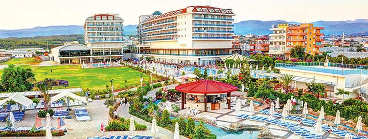 Smagios šeimos atostogos TURKIJOJE! 7 naktys gerame 5* viešbutyje KAHYA RESORT AQUA & SPA.