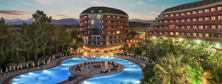 Prabangios atostogos Turkijoje! Savaitė puikiame viešbutyje DELPHIN DELUXE RESORT.
