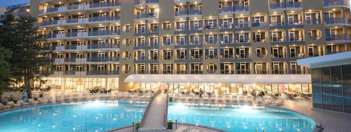 Pasitikite vasarą BULGARIJOS Auksinių kopų kurorte! Savaitė labai gerame 4* viešbutyje HVD VIVA CLUB.