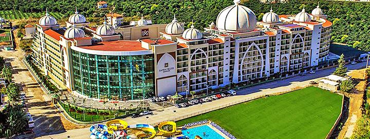 Pramogaukite su šeima TURKIJOJE! Savaitės atostogos 5* viešbutyje ALAN XAFIRA DELUXE.