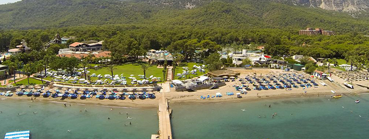 Poilsis ant žalio jūros kranto! Savaitės atostogos Kemero kurorte TURKIJOJE, 5* viešbutyje.