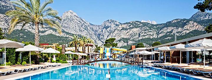 Atostogos TURKIJOJE: komfortiškas poilsis ant žalio jūros kranto Kemere! Savaitė gerame 4* viešbutyje.