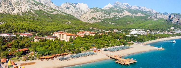 Atostogaukite prabangioje pasakoje ant vaizdingo jūros kranto TURKIJOJE! Savaitės poilsis labai gerame 5* viešbutyje AKKA ANTEDON HOTEL.