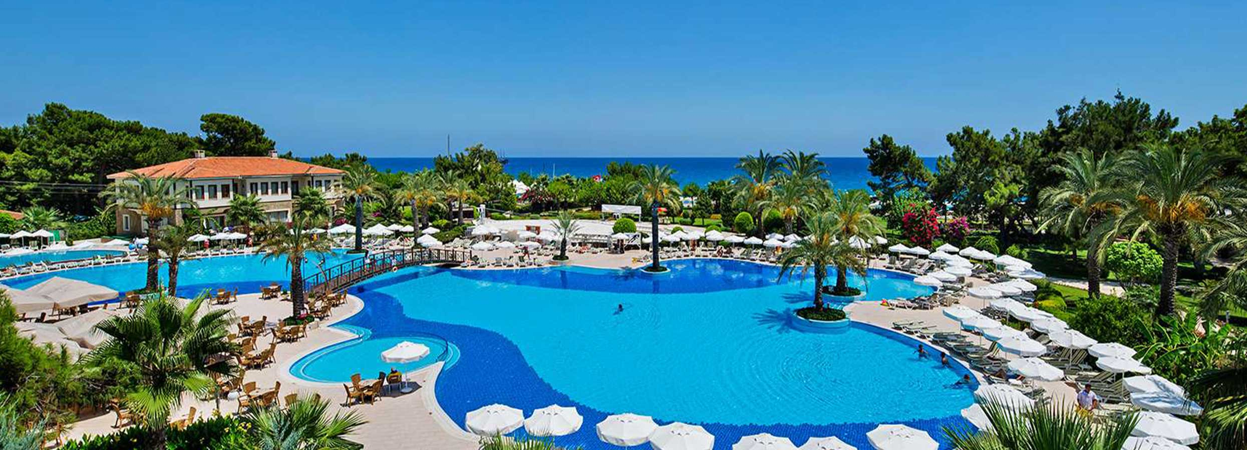 Turiningas poilsis mėgaujantis įspūdingo viešbučio komfortu TURKIJOJE! Savaitė labai gerame 5* viešbutyje QUEENS PARK TEKIROVA!