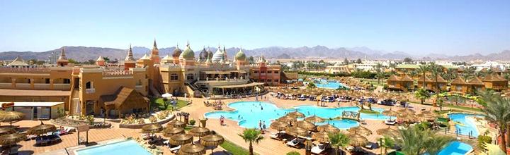 """Pasirūpinkite kokybiškomis atostogomis iš anksto - ilsėkitės EGIPTO Šarm el Šeicho kurorte! Savaitė turistų puikiai vertinamame 4* viešbutyje su vandens parku ir """"viskas įskaičiuota"""" - vos nuo 417 EUR! Data: 2017 m. gruodžio 6 d."""