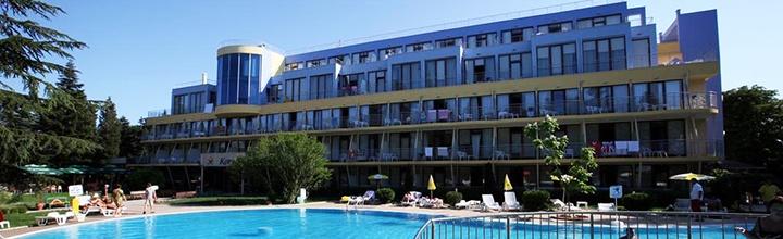 Vasaros atostogos su šeima Auksinių kopų regione, BULGARIJOJE! Savaitė gerame 4* viešbutyje su pusryčiais ir vakarienėmis - tik nuo 376 EUR! Kelionės data: 2017 m. rugpjūčio 11 d.