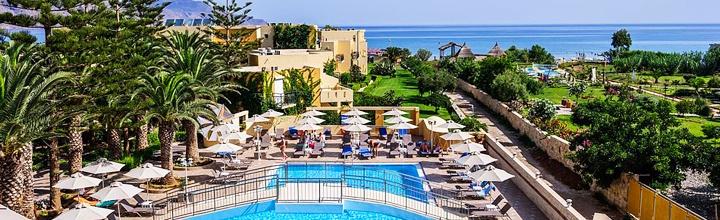 Gražuolėje KRETOJE atostogoms rinkitės puikų pajūrį ir kokybišką viešbutį! Savaitė poilsio gerame 4* viešbutyje su pusryčiais ir vakarienėmis - tik nuo 465 EUR! Kelionės data: 2017 m. spalio 18 d.