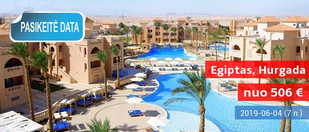 """Kam laukti kitos vasaros, kai malonia šiluma galite mėgautis kiaurus metus? Savaitės poilsis EGIPTE, labai gerame 4* viešbutyje su """"viskas įskaičiuota"""" - tik nuo 429 EUR! Kelionės data: 2017 m. gruodžio 5 d."""