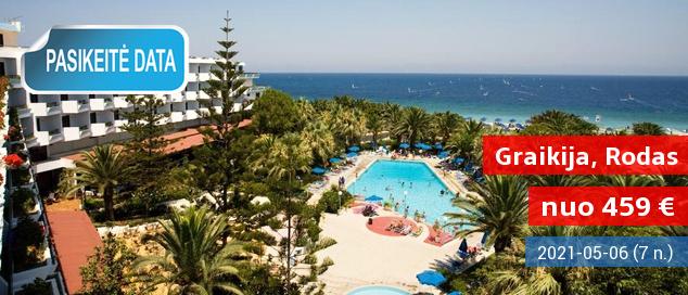 Šiltos gegužės atostogos išskirtinio grožio Graikijos saloje – Rode. 7 nakvynės 4* viešbutyje ant jūros kranto su pusryčiais ir vakarienėmis tik 359 EUR! 2017 m. gegužės 12 d.
