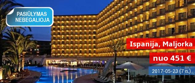 Ilsėkis viename gražiausių pasaulio kampelių MALJORKOJE! Savaitė labai gerame 4* viešbutyje tik nuo 505 EUR! Kelionės pradžia: gegužės datos