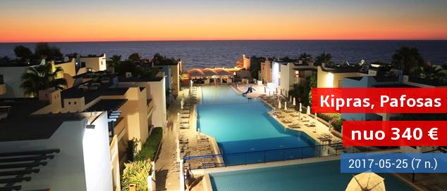Įsimintinos atostogos saulėtajame Kipre! Savaitė gerame 4* viešbutyje su pusryčiais ir vakarienėmis tik nuo 363 EUR! Kelionės data: 2017 m. gegužės 25 d.