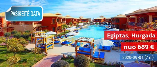 """ŠEIMOS PAVASARIO ATOSTOGOS EGIPTE! Savaitė labai gerame 4* viešbutyje su """"viskas įskaičiuota"""" - tik nuo 576 EUR! Išvykimas: 2017 m. gegužės 30 d."""