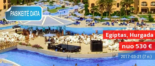 """Kovo atostogos spalvingajame EGIPTE! Savaitė gerame 4* viešbutyje ant jūros kranto su """"viskas įskaičiuota"""" nuo 530 EUR. Kelionės data: 2017 m. kovo 21 d."""