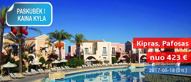 Idealios atostogos Europos kultūros sostinėje KIPRO SALOJE! Savaitė puikiame 4* viešbutyje su pusryčiais - tik nuo 423 EUR! Kelionės data: 2017 m. gegužės 18 d.