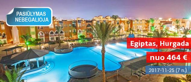 """Kai oras vis labiau žvarbsta, geriausia išeitis - kokybiškas poilsis EGIPTE! Savaitė gerame 5* viešbutyje su """"viskas įskaičiuota"""" - vos nuo 542 EUR. Kelionės data: 2017 m. kovo 21 d."""