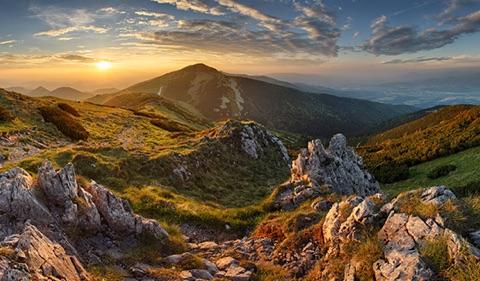 Slovakijos kalnai ir žavingos požemių karalystės