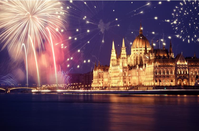 Naujieji metai žaižaruojančiame Budapešte