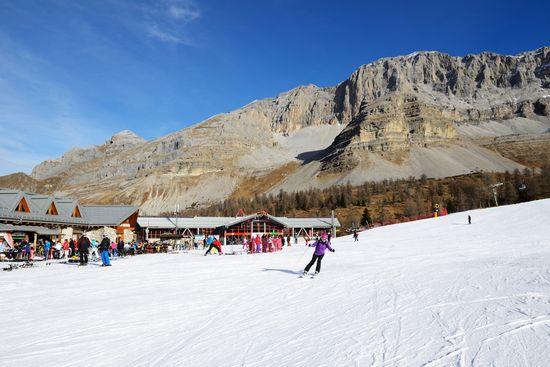 Slidinėjimas Italijoje - Cortina d'Ampezzo 10d.