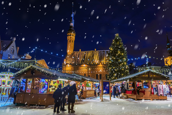 Kalėdinės mugės Taline – pramogos Tartu