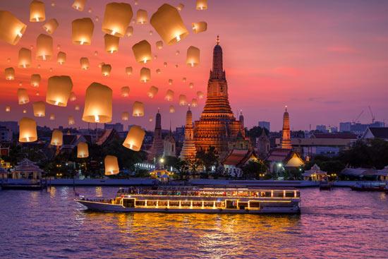 Kelionės Naujametinis spalvingasis Tailandas ir egzotiškoji Kambodža aprašymas